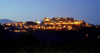 Montalto Uffugo Panorama Notturno Calabria Contatto