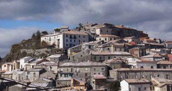 Mormanno Panorama Innevato Calabria Contatto