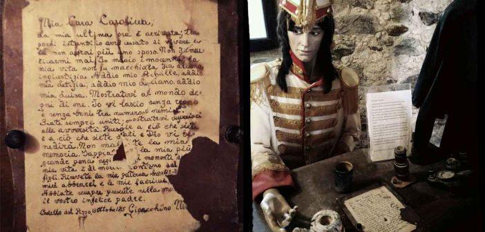 Gioacchino Murat Lettera Condanna Calabria Contatto