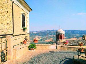 Santa Severina vista Santa Filomena Calabria Contatto