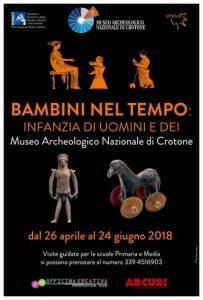 Bambini nel Tempo Museo Crotone Calabria Contatto