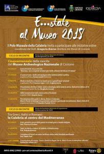 E...State Al Museo 2018 Crotone Calabria Contatto