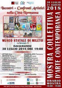 Mostra D'Arte Mileto Calabria Contatto