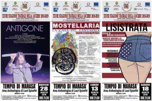 Stagione Teatrale Locride 2018 Calabria Contatto