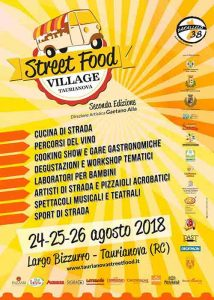 Street Food Taurianova Locandina Calabria Contatto