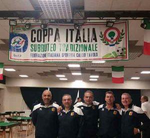 Coppa Italia Subbuteo Catanzaro Calabria Contatto