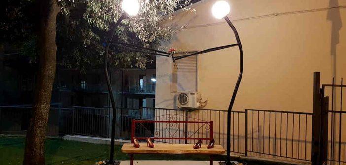 Panchina Rossa Notte Scigliano Calabria Contatto