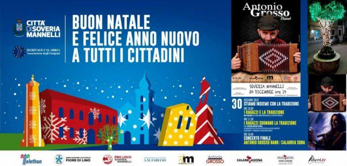 Soveria Mannelli Natale Vetrina Calabria Contatto