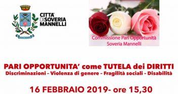 Pari Opportunita Soveria Mannelli Calabria Contatto