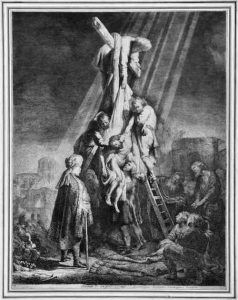 Rembrandt La Deposizione Dalla Croce Calabria Contatto