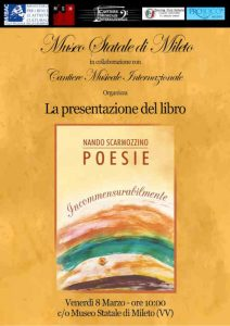 Incommensurabilmente Presentazione Calabria Contatto