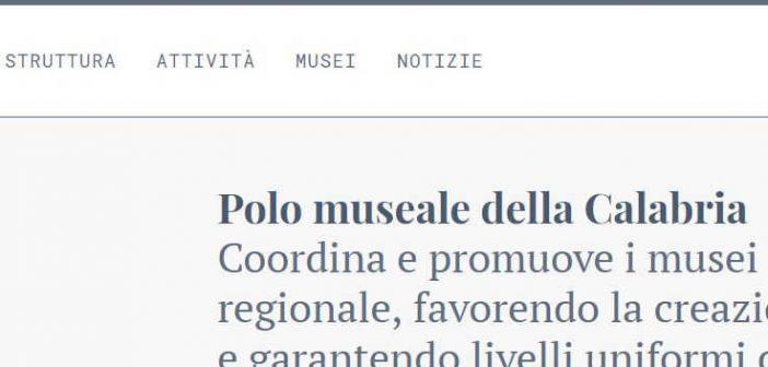 Sito Polo Museale Della Calabria Contatto
