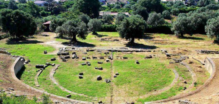 Teatro Greco Romano Locri Calabria Contatto