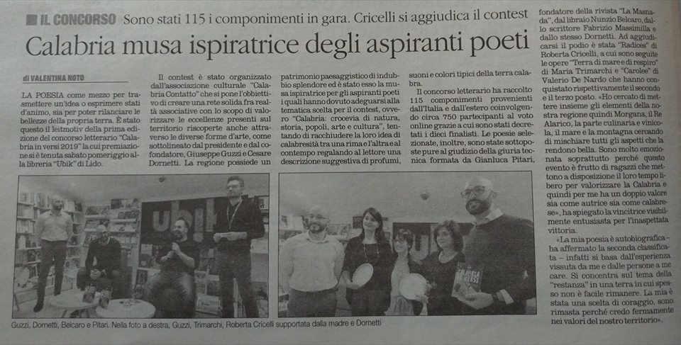 CalabriaIn Versi Quotidiano Del Sud Calabria Contatto