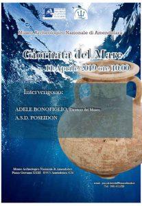 Giornata Del Mare Locandina Museo Amendolara Calabria Contatto