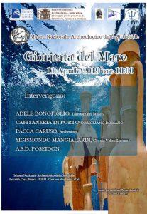 Giornata Del Mare Locandina Museo Sibaritide Calabria Contatto