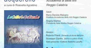 Locri In Acquarello Locandina Calabria Contatto