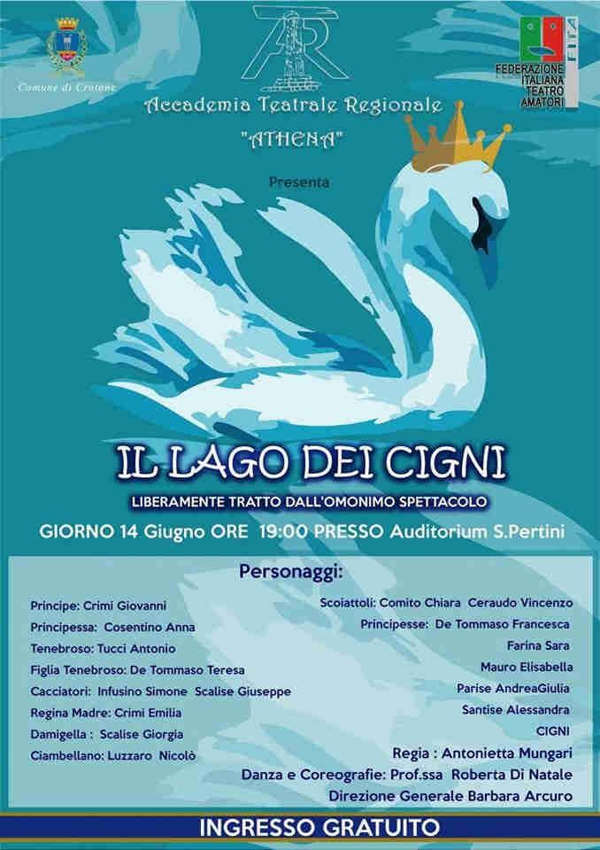 Il Lago Dei Cigni Evento Calabria Contatto