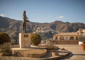 Statua Mattia Preti Calabria Contatto