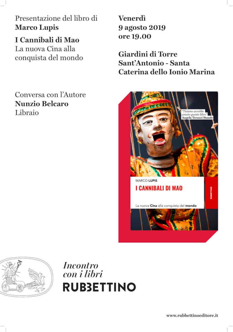 I Cannibali Di Mao Libro Marco Lupis Calabria Contatto