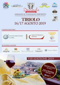 Locandina Bacchanalia Tiriolo 2019 Calabria Contatto