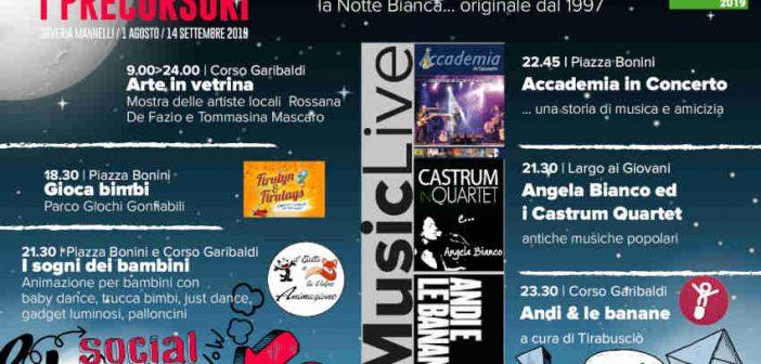Notte Bianca Soveria Mannelli 2019 Calabria Contatto