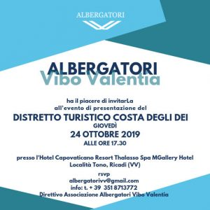 Distretto Turistico Associazione Albergatori Calabria Contatto