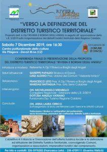 Distretto Turistico Territoriale Locandina Calabria Contatto