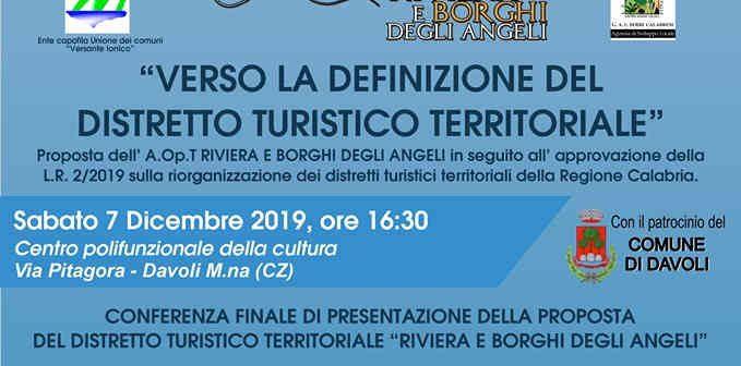 Distretto Turistico Territoriale Proposta Calabria Contatto