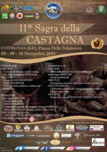 Sagra della Castagna Cotronei Programma Calabria Contatto
