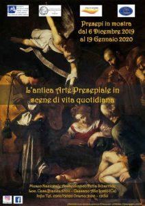 Arte Presepiale Scena Vita Quotidiana Calabria Contatto