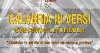 Concorso Letterario Locandina 2020 Calabria Contatto