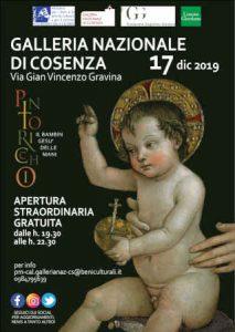 Galleria Nazionale Cosenza Apertura Straordinaria Calabria Contatto