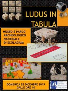 Ludus In Tabula Scolacium Calabria Contatto
