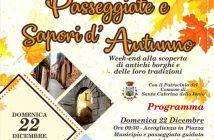 Passeggiate Sapori Autunno Calabria Contatto