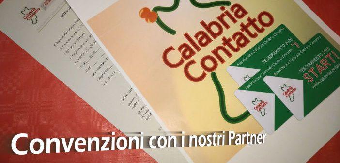 Convenzioni Partner Soci Calabria Contatto