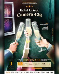 Hotel Crispi Locandina Teatro Calabria Contatto