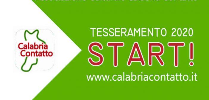 Tesseramento Soci 2020 Calabria Contatto