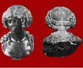 Busto femminile in basanite nella Sezione romana