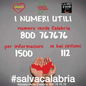 Numeri Utili Calabria Contatto