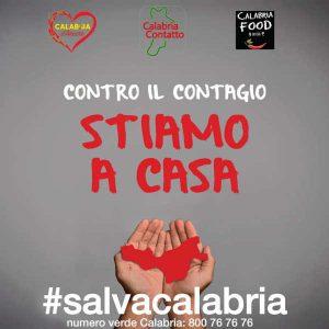 Salvacalabria Stiamo Casa Calabria Contatto