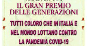 Gran Premio Generazioni 2020 Calabria Contatto