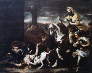Save the culture Galleria Cosenza Luca Giordano Jezabel Dilaniata Dai Cani Calabria Contatto