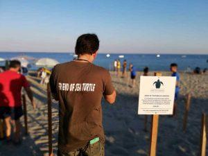 Volontari Spiaggia Caretta Calabria Conservation Calabria Contatto