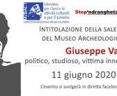 La saletta del Museo per lo studioso Giuseppe Valarioti