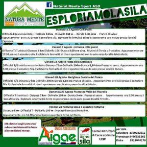 Esploriamo Sila Montagna Pogramma Calabria Contatto