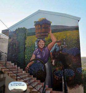 Murale Montepaone Leonardo Cannistra Cosentino Beniamino Calabria Contatto