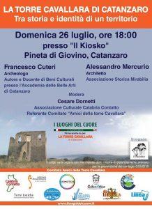 Torre Cavallara Storia Giovino Cuteri Mercurio Catanzaro Calabria Contatto