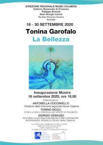 Bellezza Garofalo Mostra Cosenza Arnone Galleria Calabria Contatto