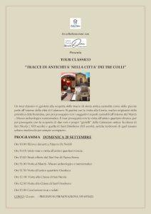 Catanzaro Antica Evento Locandina Tracce Antichita Calabria Contatto